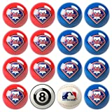 Phillies Pool Ball Billiard Set