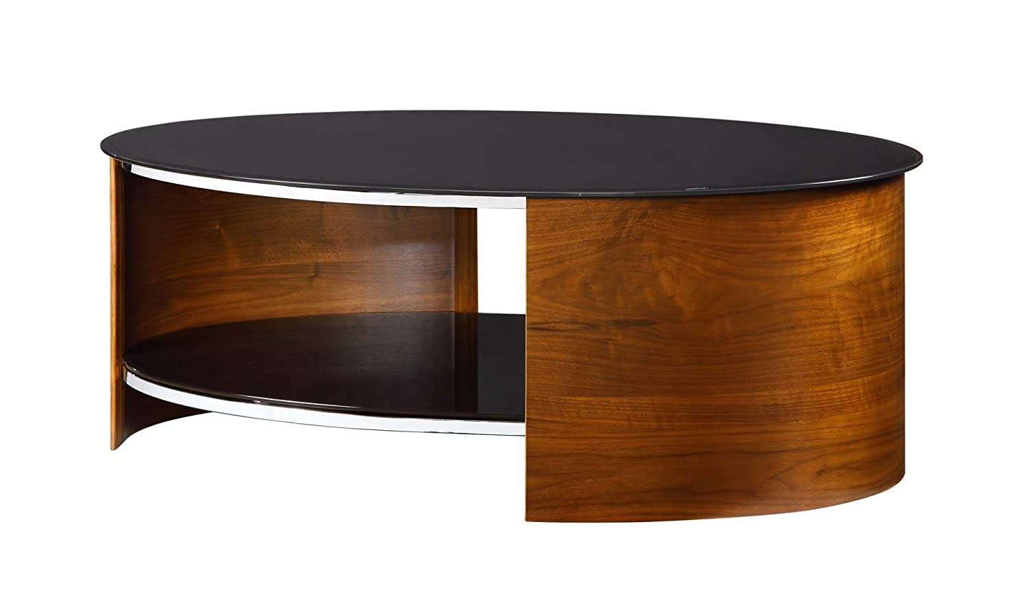 Jual curve jf301 oval coffee table amazon kitchen home geotapseo Choice Image
