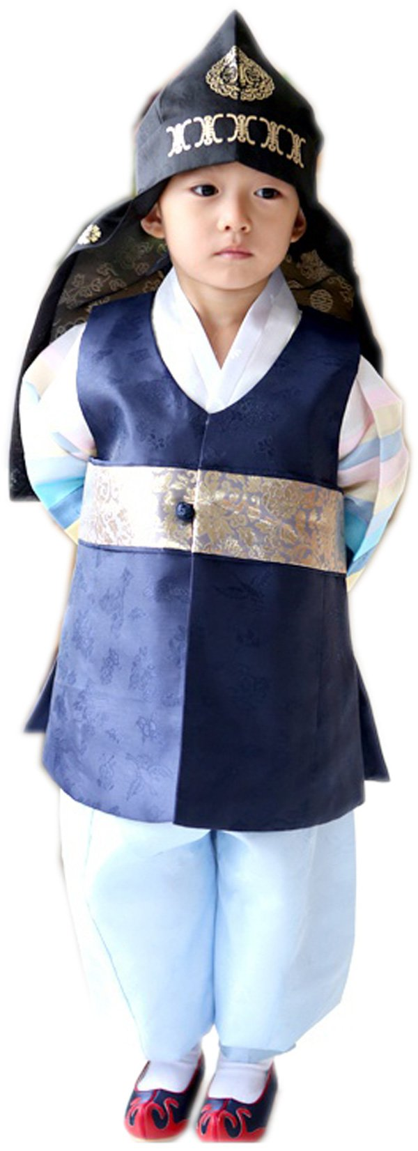 Korean Hanboks boys babys kids traditional costumes birthday party DOLBOK hb41 (2 ages)