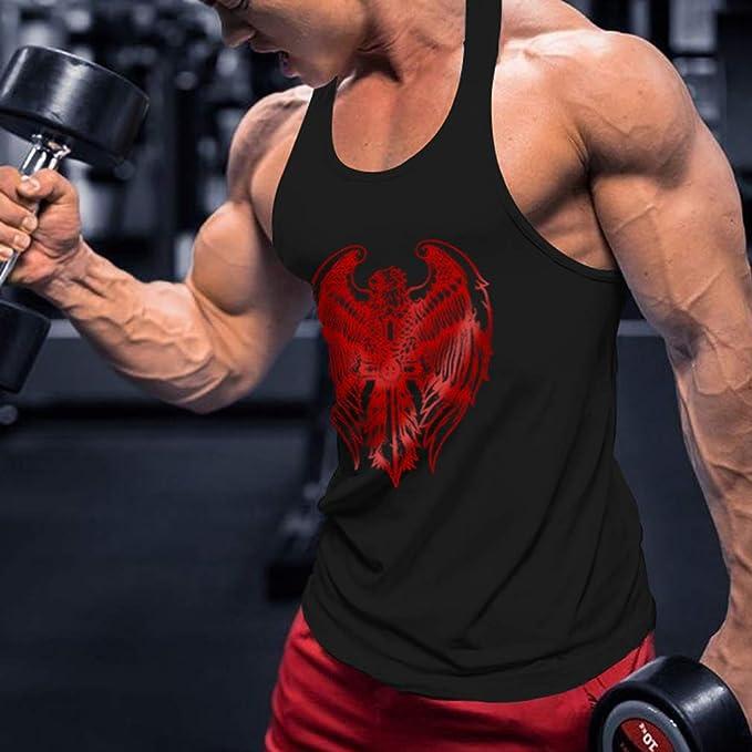 JiXuan Maillot Entraînement Gymnase Maillots Entraînement Fitness Débardeur  Hommes Stringer Bodybuilding Muscle Shirt  Amazon.fr  Vêtements et  accessoires b68331f11a0