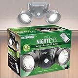Ideaworks Solar Night Eyes Alarm Light