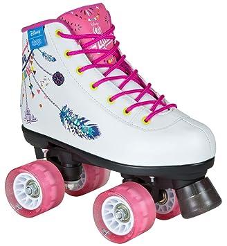 populäres Design online Shop 2019 professionell DISNEY SOY LUNA FIESTA ROLLSCHUH Rollerskates Kinder weiß rosa pink (41)