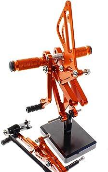 For Triumph DAYTONA 675R 2006-2012 Rearset Footrest Footpegs Foot Peg Set