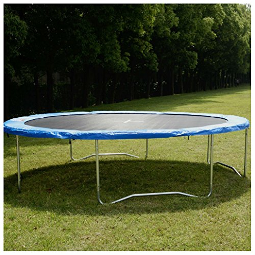 Safety Round Frame Blue Pad Spring Pad Replacement Cover for 14FT Trampoline New from Unknown