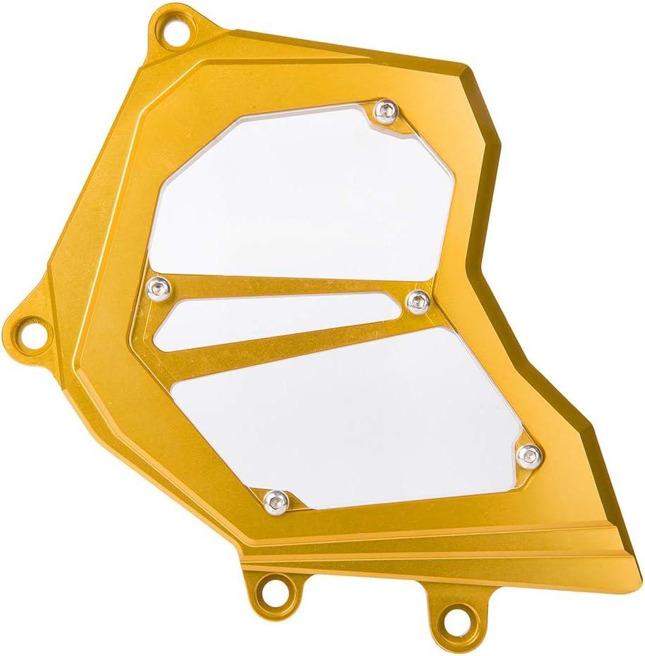 FATExpress ZX10R Zubeh/ör Motorrad CNC Aluminium Front Kettenschutz Kettenrad Motorabdeckung f/ür 2011 2012 2013 2014 2015 2016 2017 2018 2019 Kawasaki Ninja ZX-10R ZX 10R 14-19 Gold