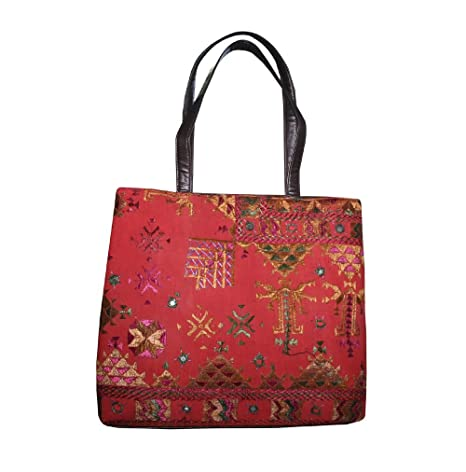 ad2f413caf76f Image Unavailable. Image not available for. Color  thehandicraftworld Vintage  Boho Bag ...