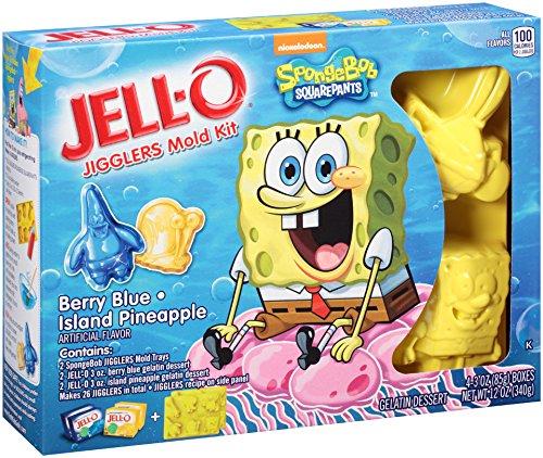 JELL O Jigglers SpongeBob Square Pineapple product image