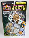 Power Rangers White Ranger Micro Morphin Playset