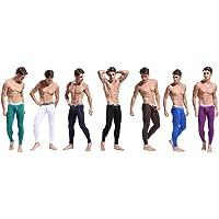 ARCITON Mens Low Rise Leggings Long Johns Thermal Bottom Pants Pack
