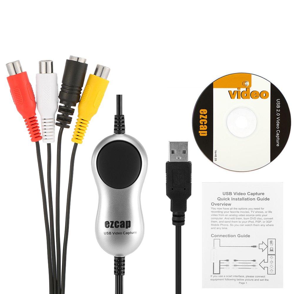 Amazon.com: Docooler USB 2.0 Video Capture HD Video Converter ...