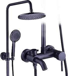 Cxmm Sistema de Ducha Conjunto de Ducha, baño de Cobre ...