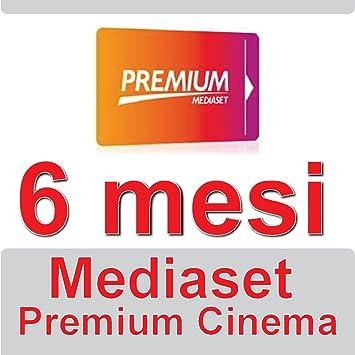 Mediaset Premium - Tarjeta de cine de prepago de 6 meses, para ...