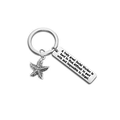 Amazon.com: Ensianth - Llavero con diseño de estrella de mar ...
