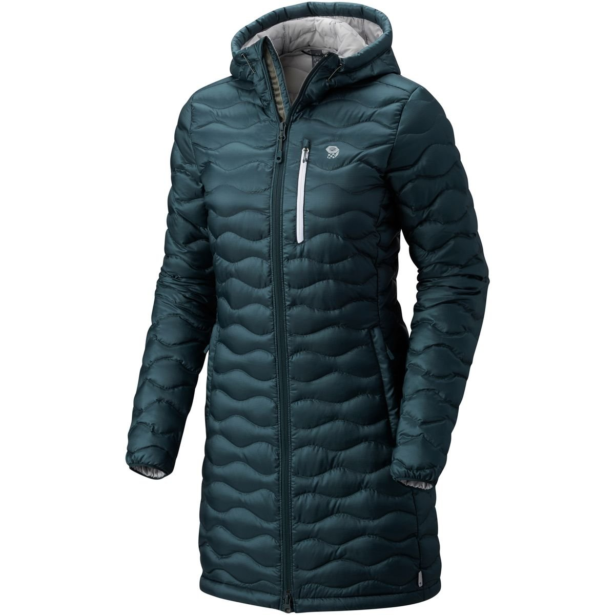 bluee Spruce Mountain Hardwear Women's Nitrous Hooded Down Parka