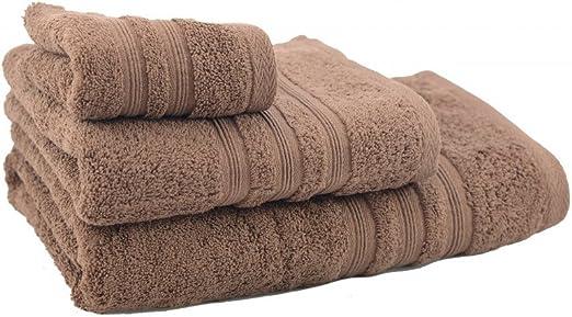 Home Line Toalla de Ducha de algodón marrón Chocolate (70x140 ...