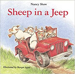 Image result for sheep in a jeep