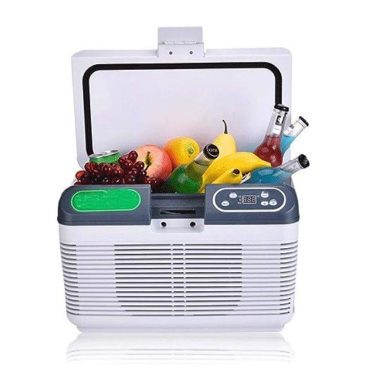 HNFYJQ Mini refrigerador y Calentador de 12 litros para ...