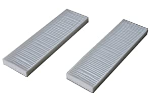 LTWHOME Hepa Filters Suitable for Bissell Vacuum Style 7 9 32076 (Pack of 2)