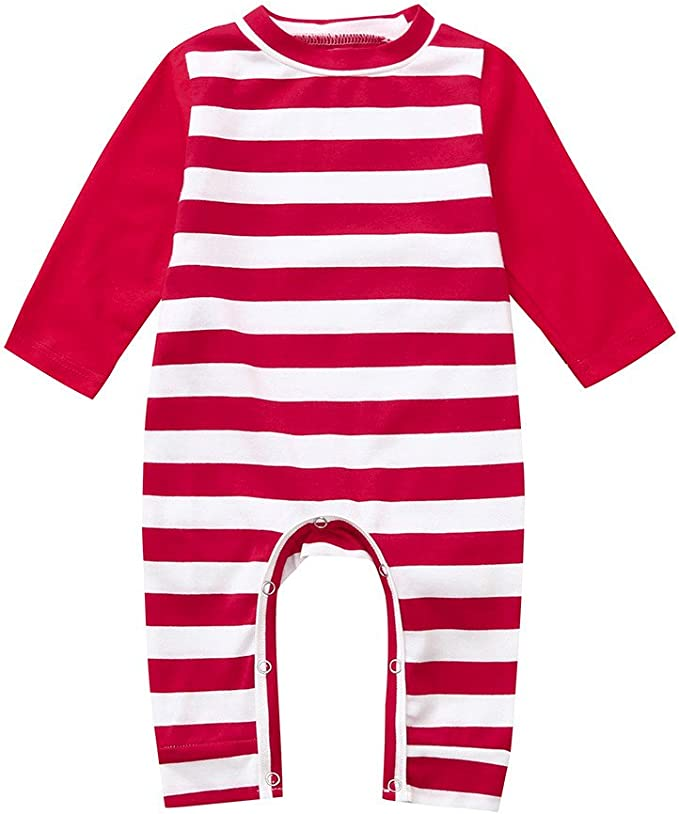 UK Newborn Kids Baby Girl Long Sleeve Cotton Romper Jumpsuit One-Pieces Clothes
