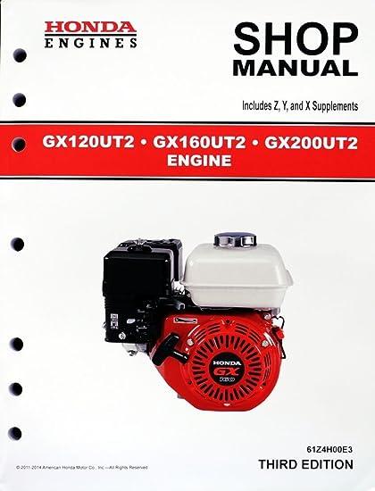 gx160 honda repair manual