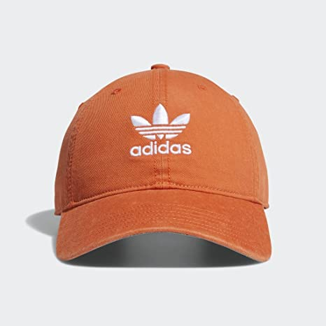 30cf3a3d8b802 Image Unavailable. Image not available for. Color: adidas Men's Originals  Relaxed Strapback Cap ...