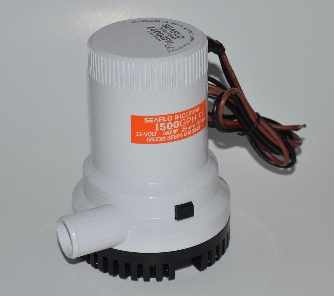 Seaflo 12v 1500 GPH Bilge Pump