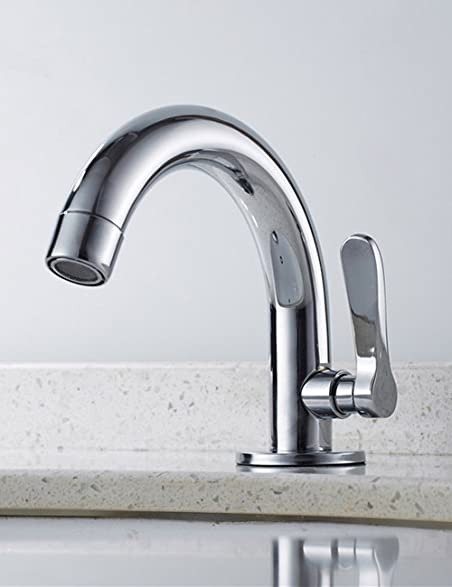 Siderit Single Handle Brass Faucet Bathroom Lavatory Sink Basin Taps ...