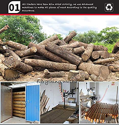 Amazon.com: Everythingwushu - Chupete de madera con alas de ...