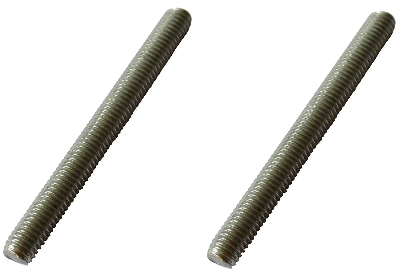 2 x M6 x 50 mm Varilla roscada V4A Tornillo de rosca exterior de acero inoxidable Calidad industrial de acero inoxidable