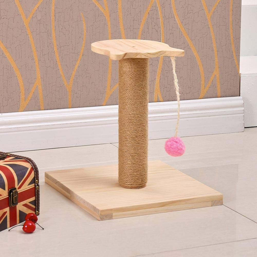 Deluxe Multi Cat Tower Cat Play Towers Wood Environmental Predection cat Tree Cat Litter Cat Scratch Board cat Scratch pin cat Toy Pet Supplies 30  30  37cm