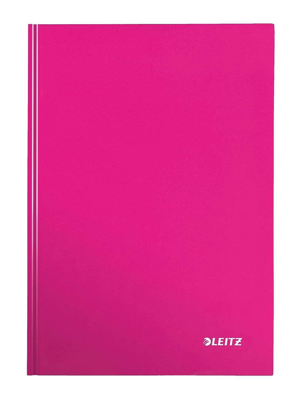 46251164 A righe WOW Leitz Blocco per appunti A4 con copertina rigida 80 fogli Carta 90 gr//mq Verde
