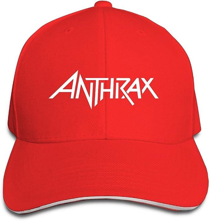 Logo de ántrax Heavy Metal banda ajustable Unisex sombreros gorra ...