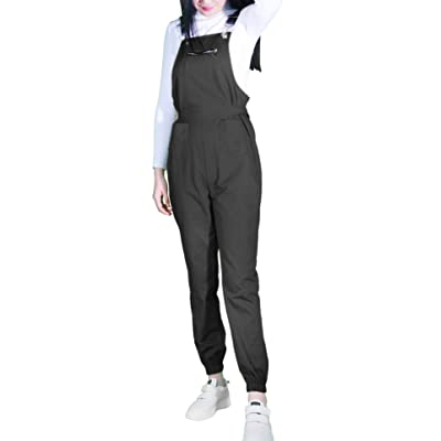2020 Newest Design Pure Color Women Overall: Clothing