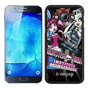 Cheap Abstract Samsung Galaxy A8 Case,Monster High Black New Custom Design Samsung Galaxy A8 Cover Case
