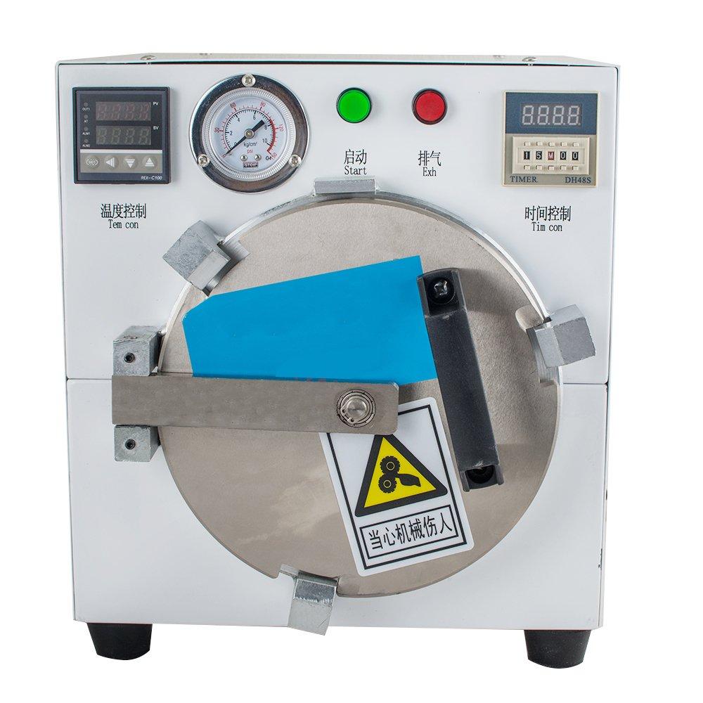 Zinnor LCD Bubble Remove Machine Equipment Autoclave Bubble Remover Adhesive Sticker LCD Air Bubble Remove Machine Screen Laminating Machine