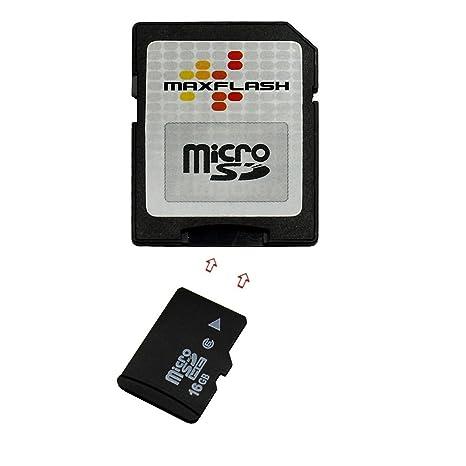 Tarjeta de memoria 16GB para Blackberry Curve 8520 (micro SD ...