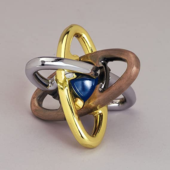 Bits and Pieces Ez átomo de Metal Rompecabezas de mármol en el ...