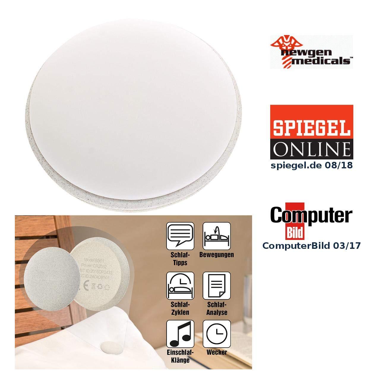 Newgen Medicals Schlafphasenwecker: 6in1 Mini Schlaflabor Mit Bluetooth  4.0, Gratis App Für IOS U0026 Android (Schlaftracker): Amazon.de: Küche U0026  Haushalt