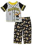 Daniel Tiger Boys' Toddler Baseball 2 Piece Pajama