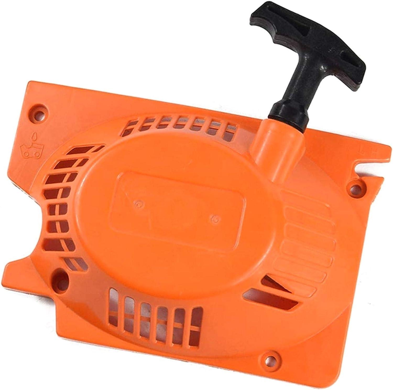 LAQI Arrancador de Retroceso de Herramienta de jardín para Motosierra Piezas de Accesorios para cortacésped Ensamblaje de cortacésped reemplaza