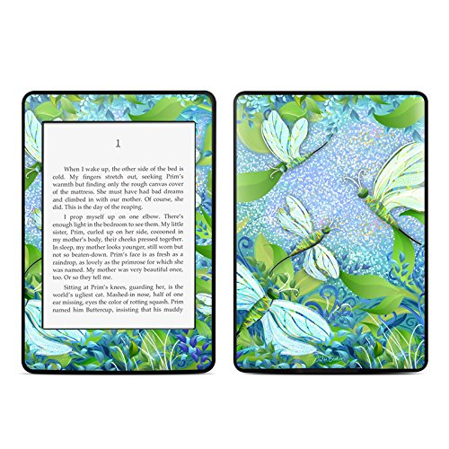 - Dragonfly Fantasy Design Protective Decal Skin Sticker for Amazon Kindle Paperwhite eBook Reader (2-point Multi-touch)