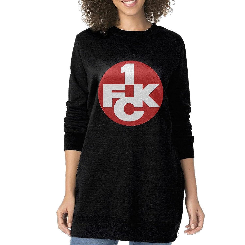 GOfunn Women s UEFA 1. FC Kaiserslautern Logo Long Style Sweatshirts low- cost b3c53a9650