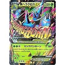 Pokemon Card XY Japanese - M/Mega Heracross EX - Rising Fist (005/096) RR Holo Rare