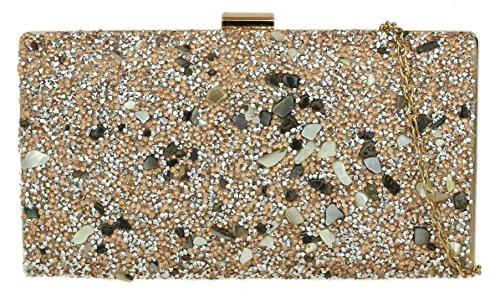 Cartera mano Material Sinttico de Handbags Girly mujer para de Champn 5pUwax7nq6