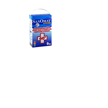 5864cb8d83 Desinfektionswaschmittel Rösch Waschmittel Sanomat 8 kg Hygiene Waschmittel,  VAH zertifiziert & RKI gelistet