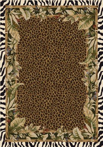 (Milliken Signature Collection Jungle Safari Runner Area Rug, 2'1
