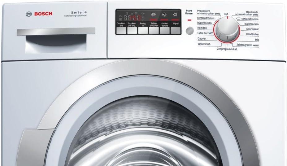 Bosch WTW86271 - Secadora (Independiente, Frente, Condensación, 8 ...