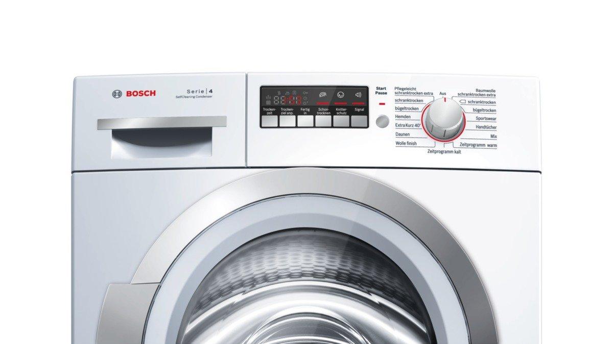 Bosch wtw86271 wärmepumpentrockner a 8 kg weiß