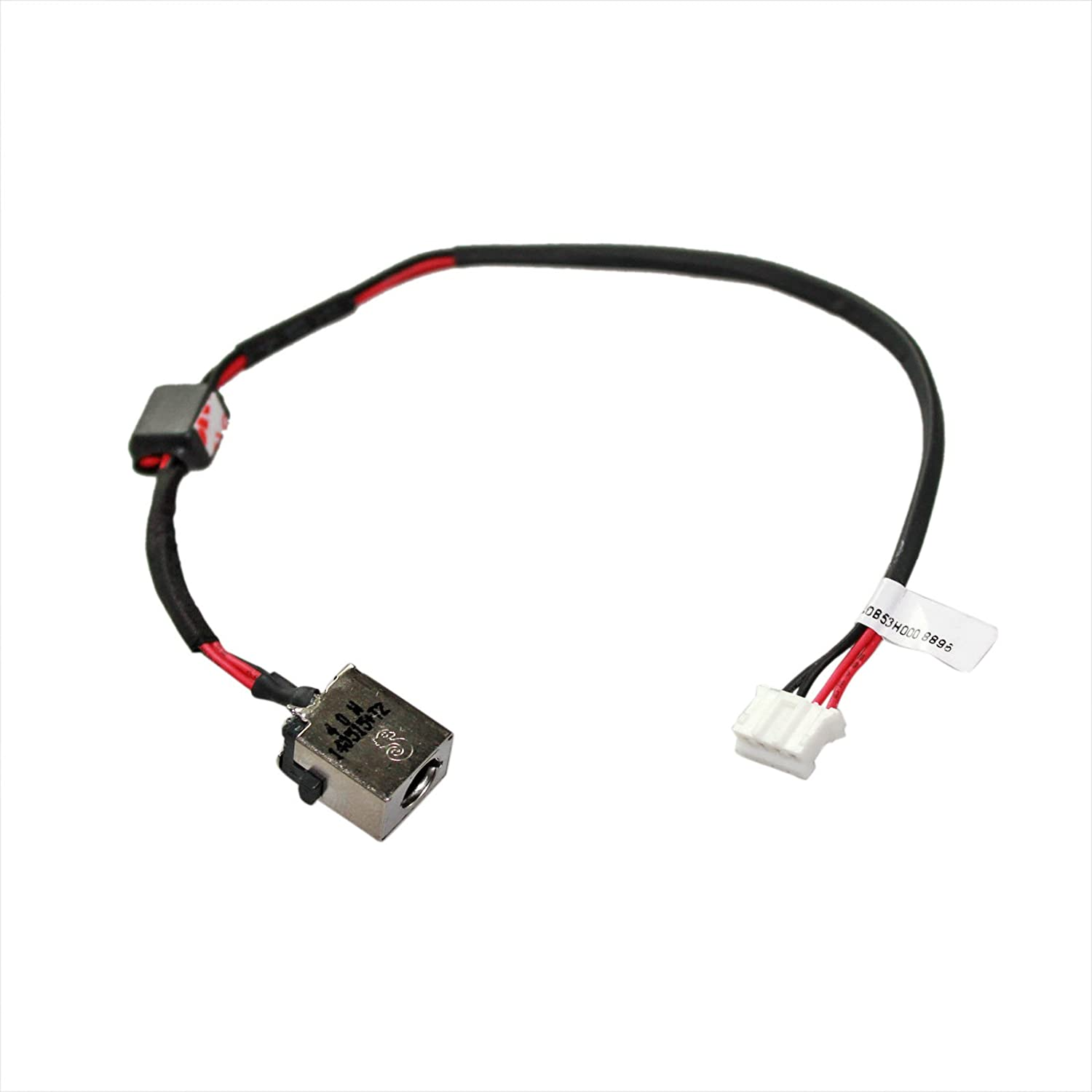 Gintai DC Power Jack Harness Cable Socket Plug Port Replacement for Acer Aspire E5-511 E5-521 E5-551 E5-571 V3-572