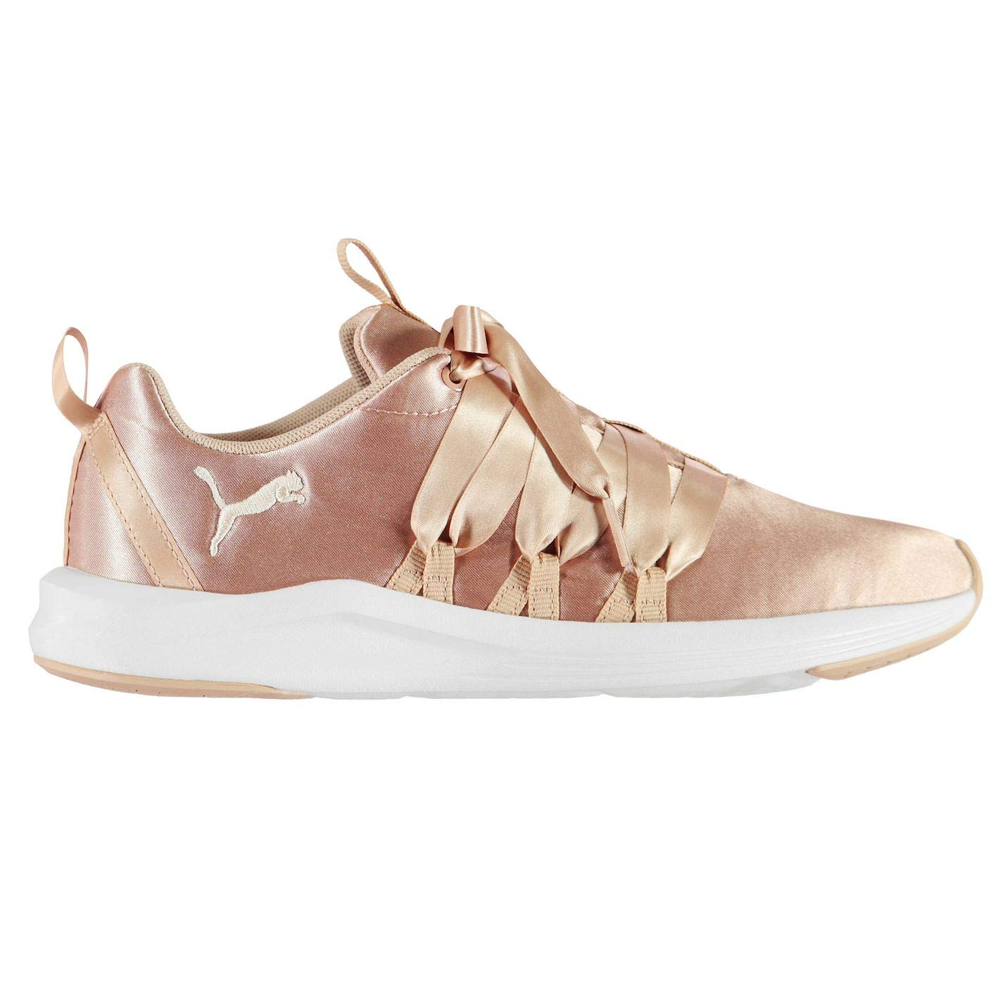 c8e95b1e Puma Women's Prowl Alt Satin WN's Peach Beige White Running Shoes ...